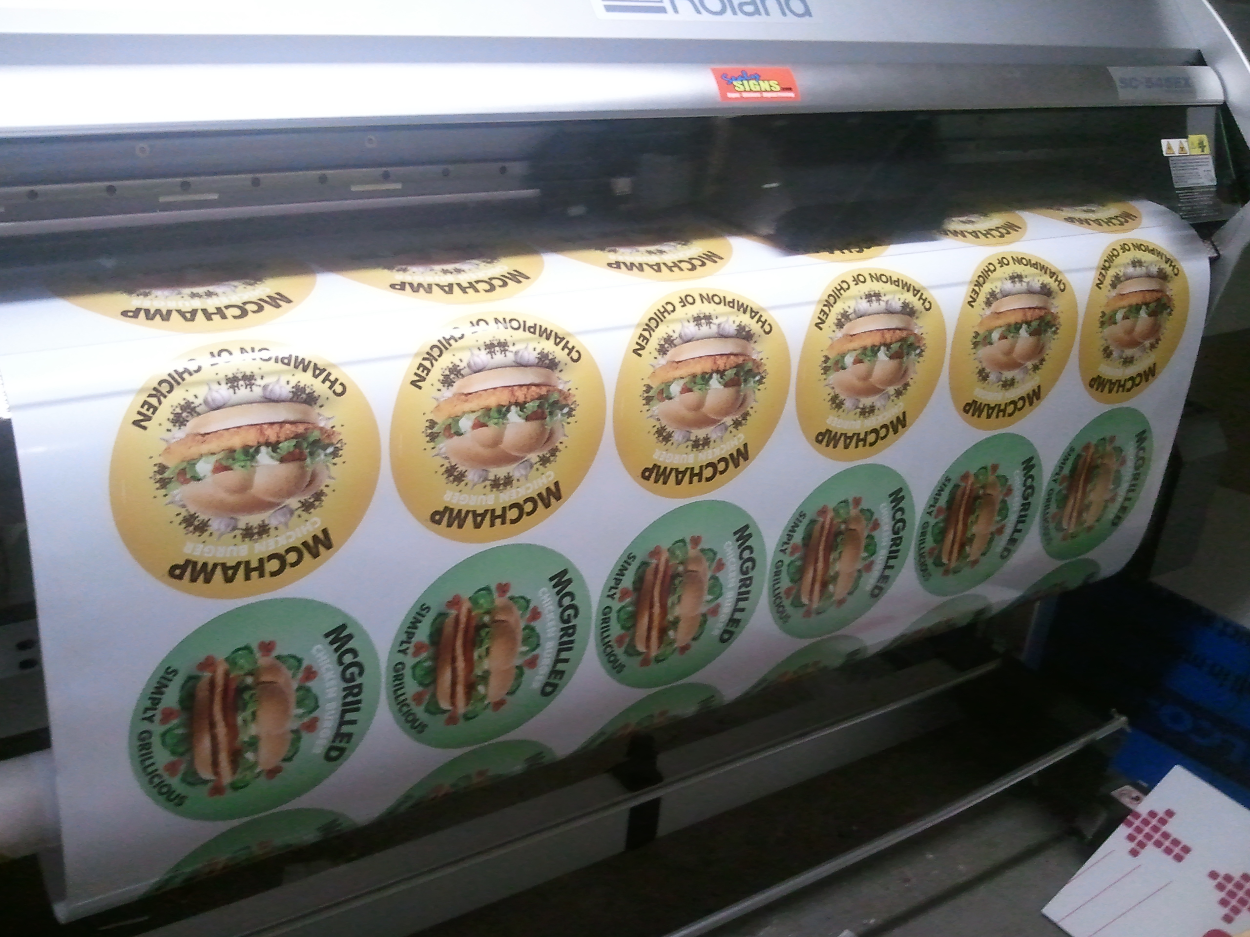 Digital Printing with Sealy Signs