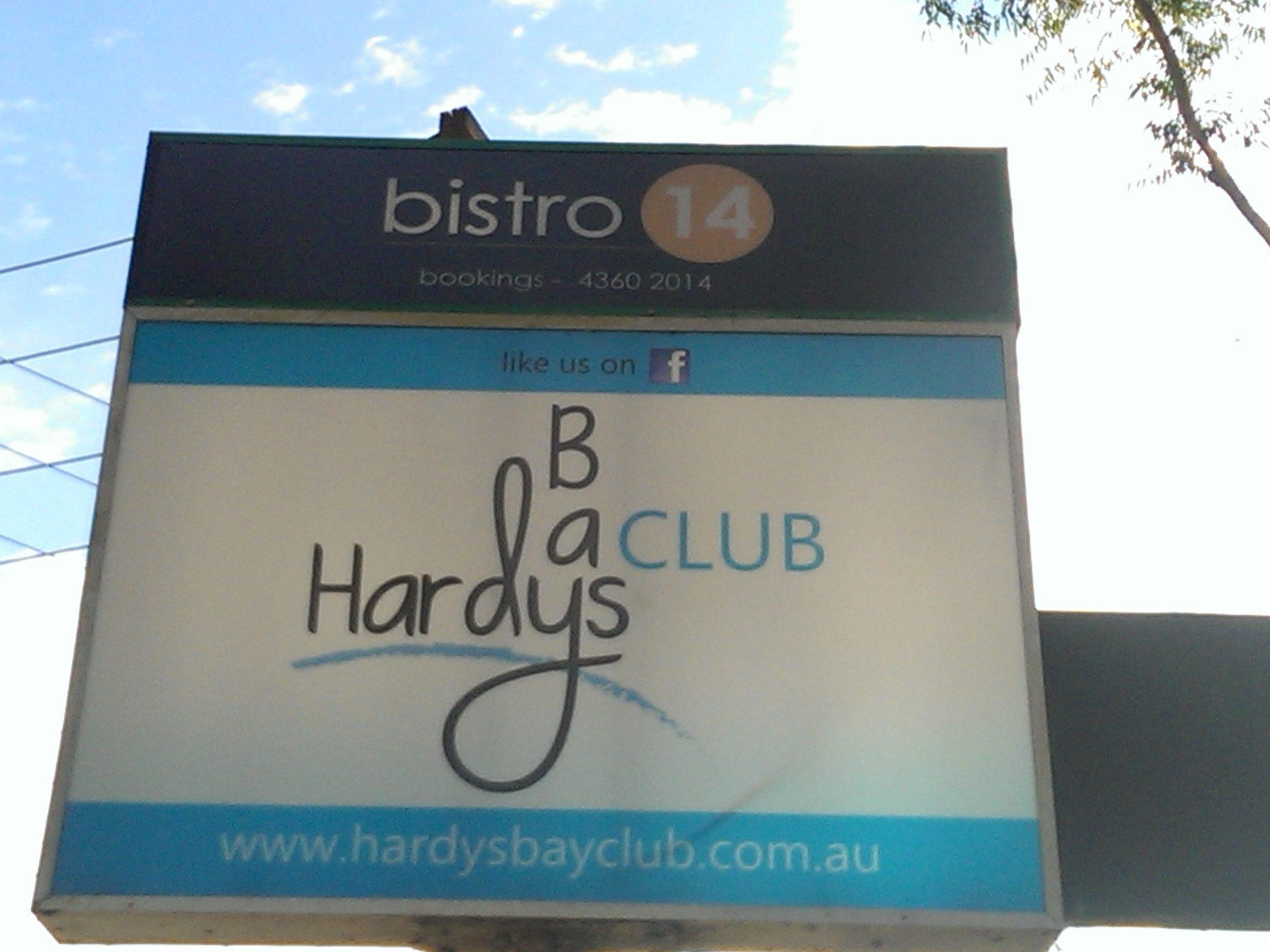 Hardys Bay Light Box