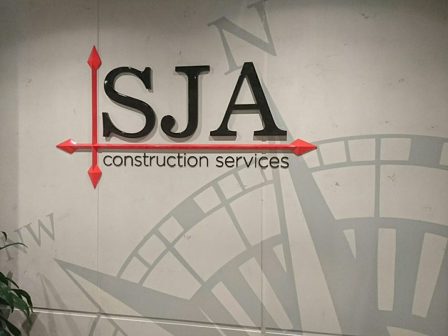 Wall Graphics for SJA Sydney Clien