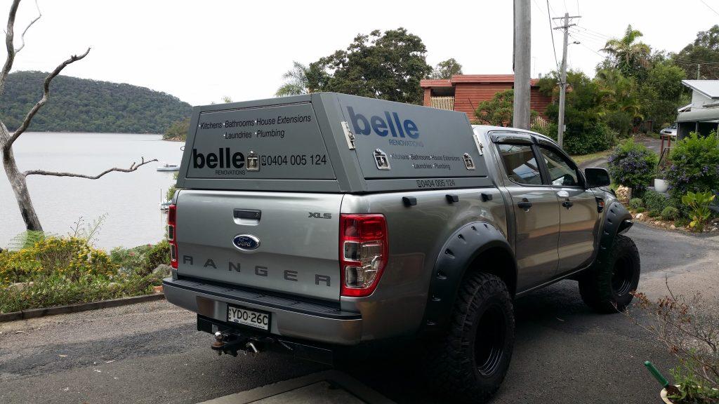 Belle Ute Signage