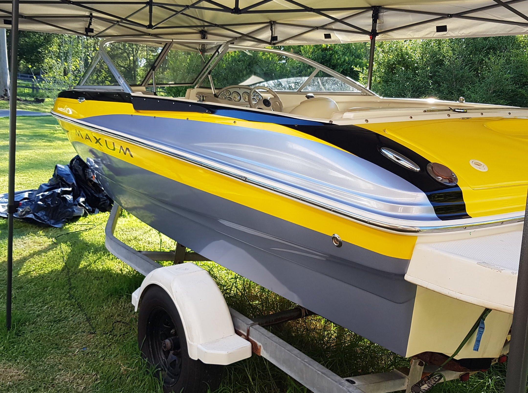 Premium Boat Wrap