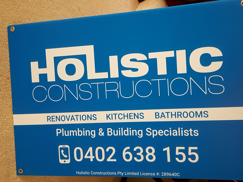 Construction Corflute Signage