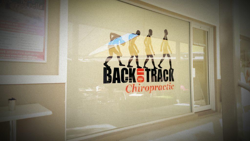 Back on Track Shop Front Signage