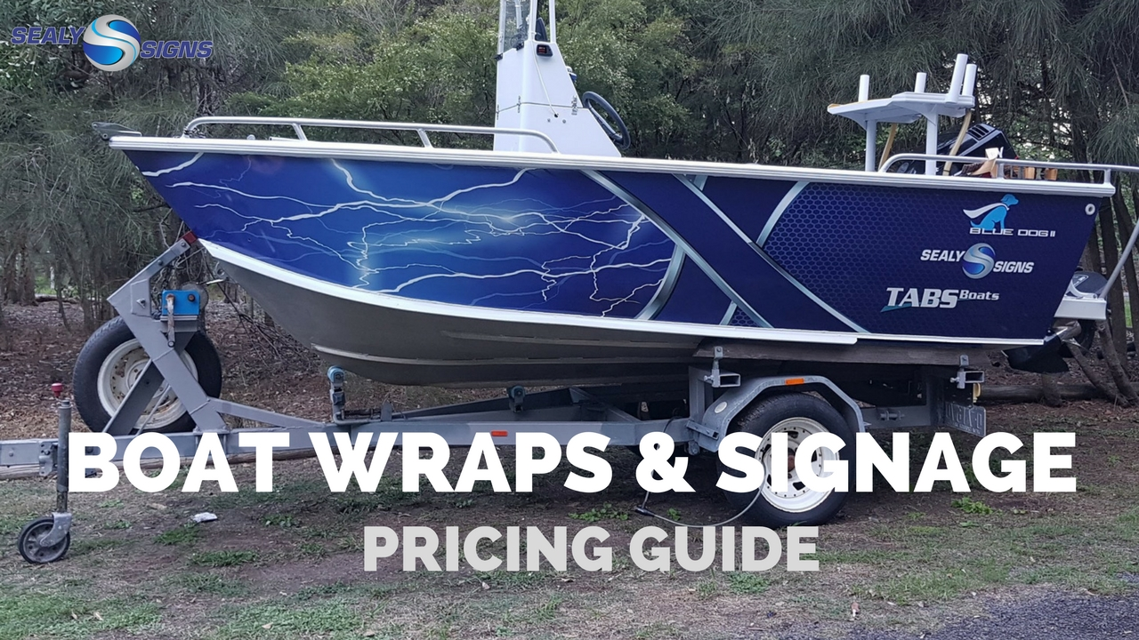 Boat Wrapping Price Guide How Much Does It Cost