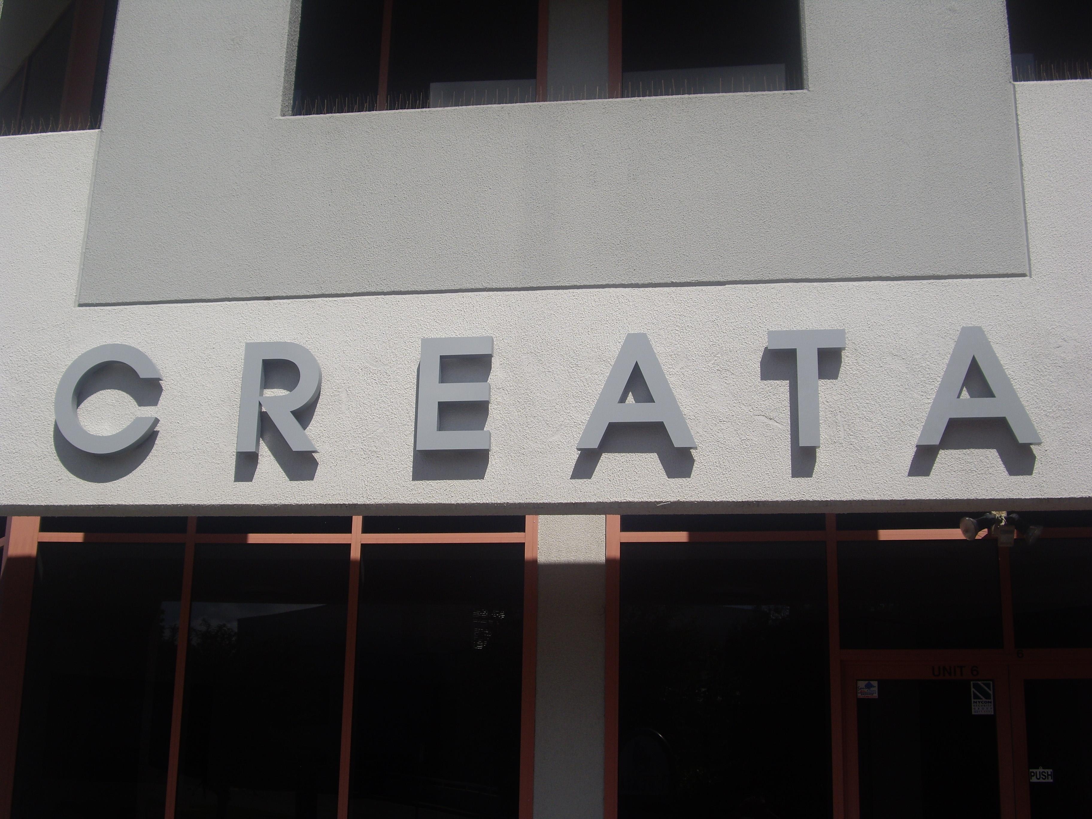 Creata 3D letters
