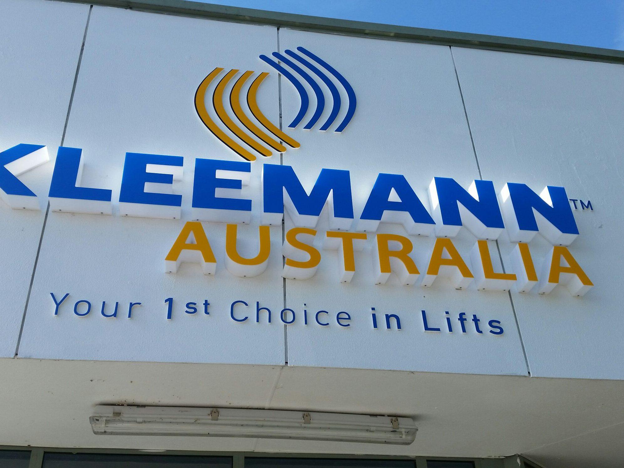 Kleemann 3D Lettering