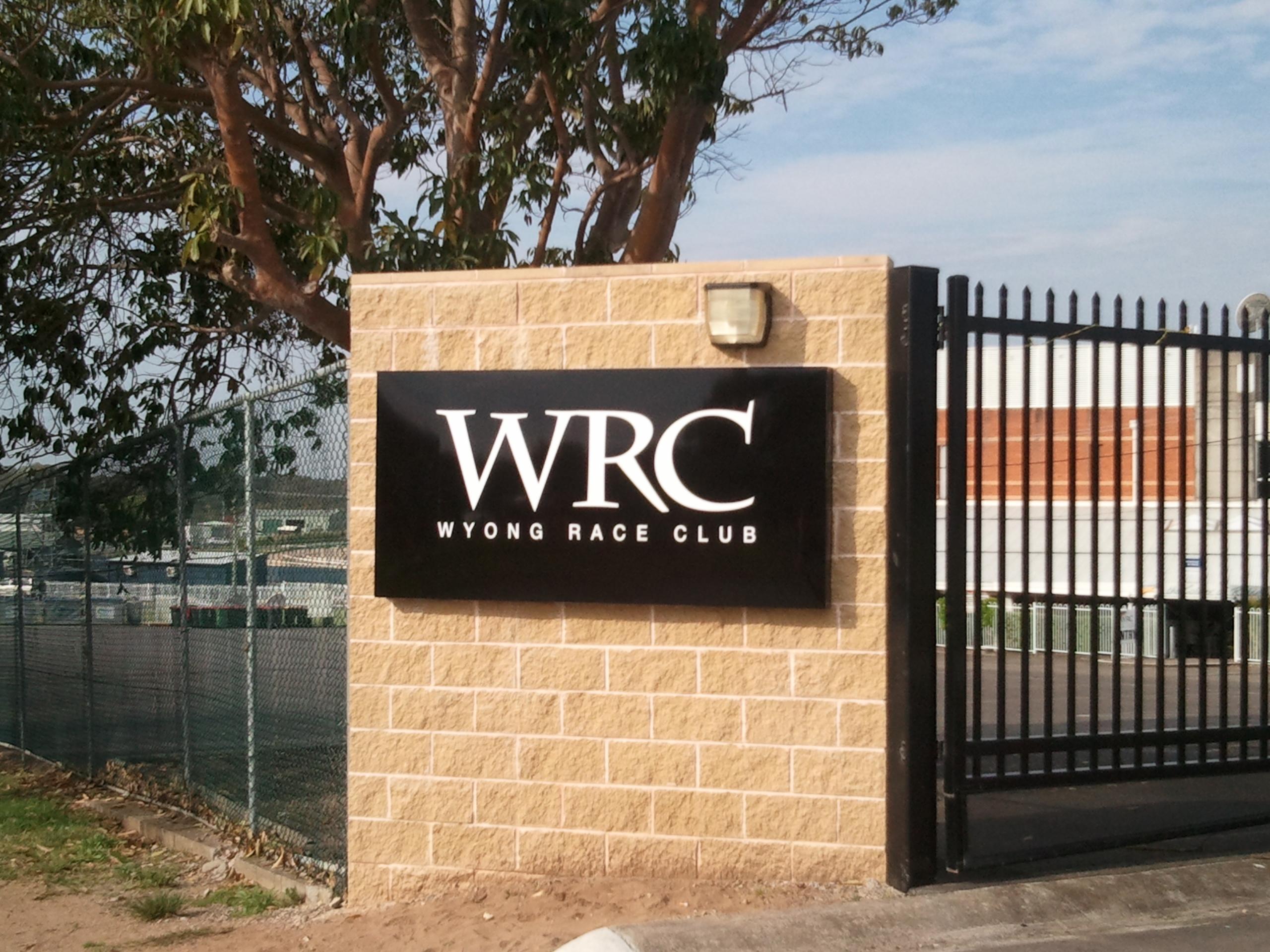 WRC Signage