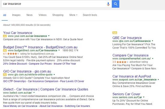 Google AdWord Tester