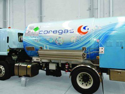 Truck Wraps - Coregas Fleet Vehicles