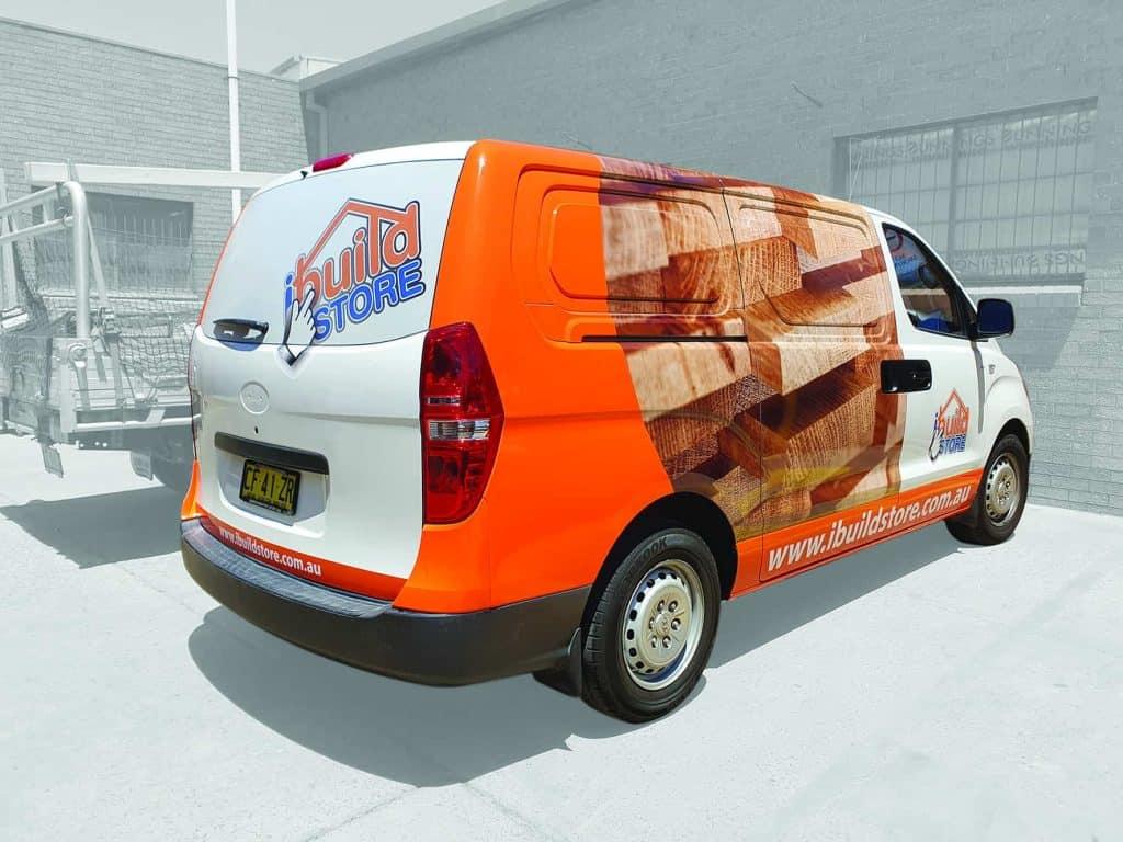 iBuild Store Van Full Wrap
