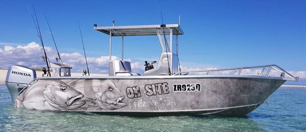 Boat Wrap Reef Fishing